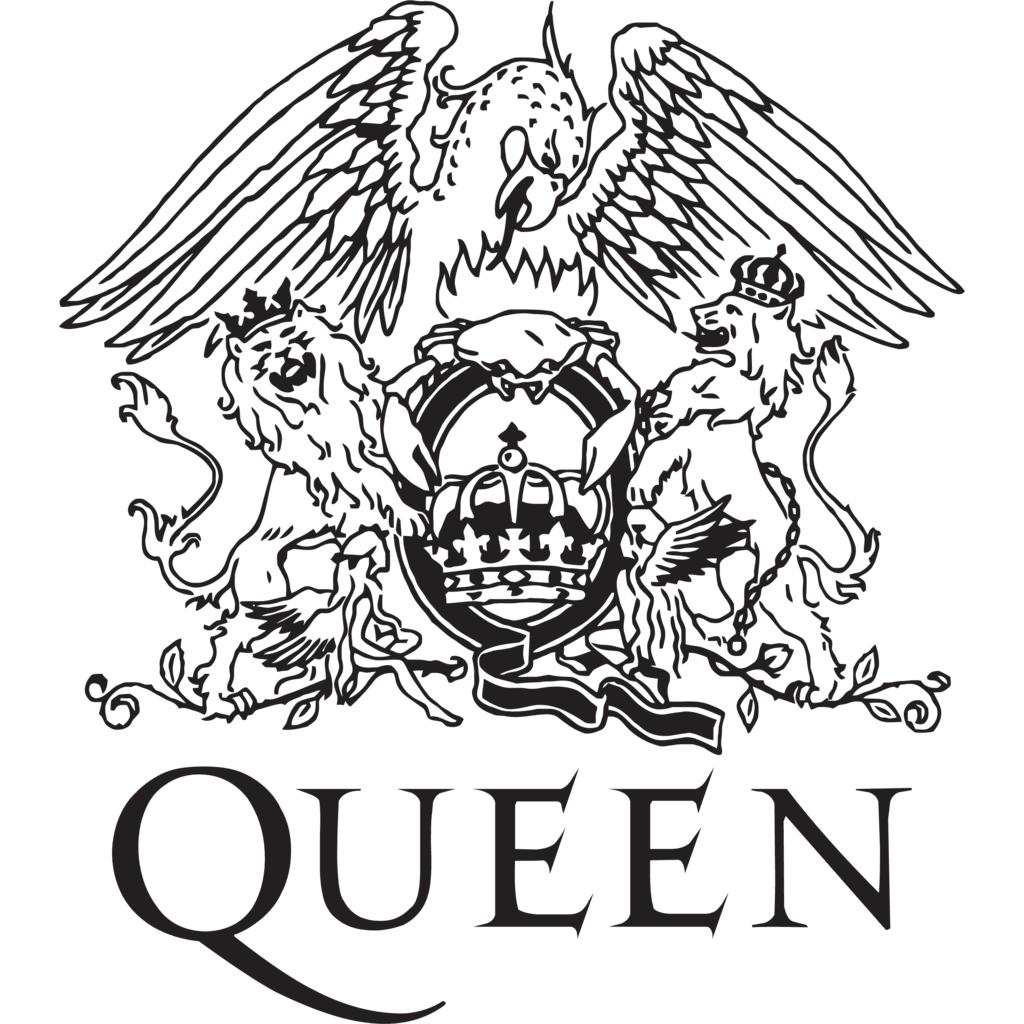 Logo Queen Diseñado por Freddie Mercury